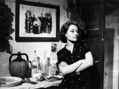 """""""Rocco and his Brothers"""" (Rocco and ses freres) by Luchino Visconti with Annie Girardot, 1960 (b/w"""