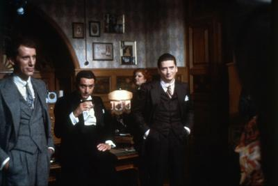 ONCE UPON A TIME IN AMERICA, 1984 directed by SERGIO LEONE James Woods, Robert by Niro (photo)