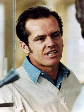 ONE FLEW OVER THE CUCKOO'S NEST, 1975 directed by MILOS FORMAN Jack Nicholson (photo)