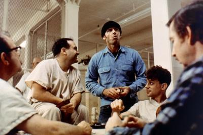 ONE FLEW OVER THE CUCKOO'S NEST, 1975 DIRECTED MILOS FORMAN Danny by Vito, Jack Nicholson and Brad