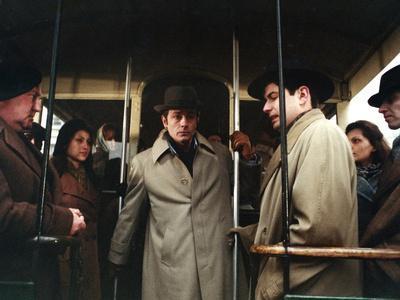 Monsieur Klein by Joseph Losey with Alain Delon, 1976 (photo)