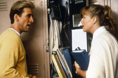 PEGGY SUE GOT MARRIED, 1986 directed by FRANCIS FORD COPPOLA Nicolas Cage ans Kathleen Turner (phot