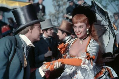 NANA, 1954 directed by CHRISTIAN-JAQUE Jacques Castelot and Martine Carol (photo)