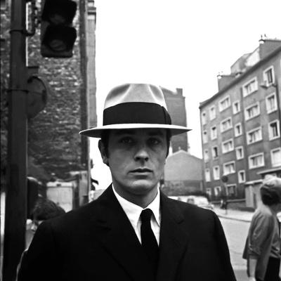 Le Samourai by Jean-Pierre Melville with Alain Delon, 1967 (photo)