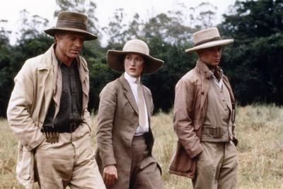Out of Africa by Sydney Pollack with Robert Redford, Meryl Streep and klaus-Maria Brandauer, 1985 (
