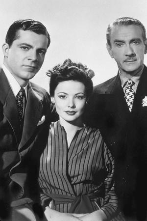 LAURA, 1944 directed by OTTO PREMINGER Laura, 1944 Dana Andrews, Gene Tierney and Clifton Webb (b/w