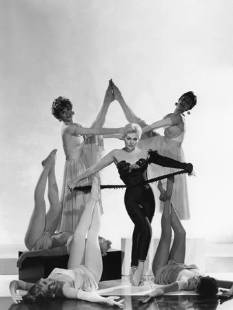 PAL JOEY, 1957 directed by GEORGE SIDNEY Kim Novak (b/w photo)