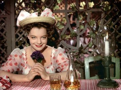 DIE DEUTSCHMEISTER / MAM'ZELLE CRICRI, 1955 directed by ERNST MAR Romy Schneider (photo)