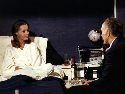 MADO, 1976 directed by CLAUDE SAUTET Romy Schneider and Michel Piccoli (photo)