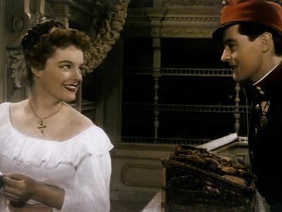 DIE DEUTSCHMEISTER / MAM'ZELLE CRICRI, 1955 directed by ERNST MAR Romy Schneider and Siegfried Bren