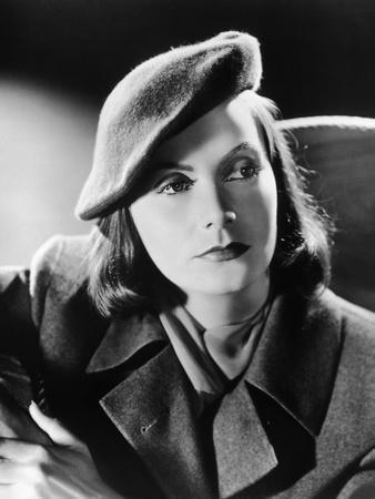 "Greta Garbo in a publicity still for the, 1939 film ""Ninotchka"", directed by Ernst Lubitsch, 1939 ("