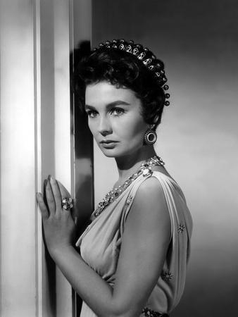 Spartacus by Stanley Kubrik with Jean Simmons, 1960 (b/w photo)