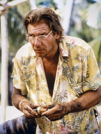 MOSQUITO COAST, 1986 directed by PETER WEIR Harrison Ford (photo)
