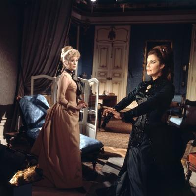 MAYERLING, 1968 directed by TERENCE YOUNG Catherine Deneuve and Ava Gardner (photo)
