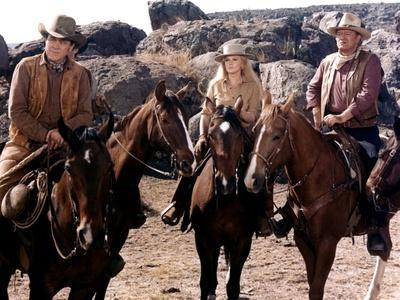 Les Voleurs by Trains THE TRAIN ROBBERS by BurtKennedy with Ben Johnson, Ann-Margret and John Wayne