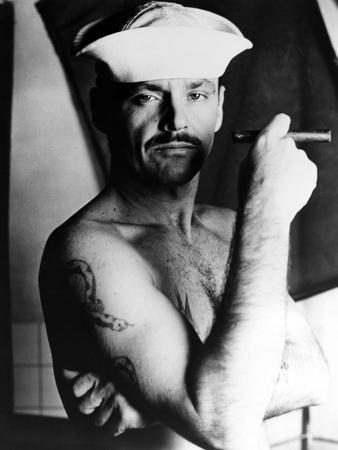 La Derniere Corvee THE LAST DETAIL by HalAshby with Jack Nicholson, 1973 (b/w photo)