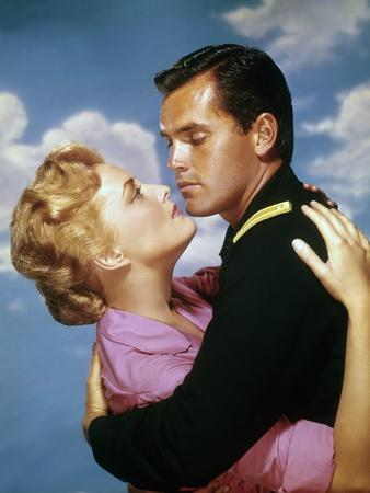 SERGEANT RUTLEGE, 1960 directed by JOHN FORD Constance Towers and Jeffrey Hunter (photo)