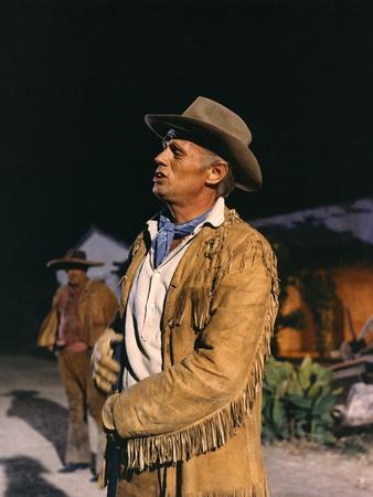 Alamo by JohnWayne with Richard Widmark, 1960 (photo)