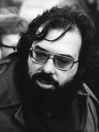 Le realisateur Francis Ford Coppola sur le tournage du film Conversation Secrete THE CONVERSATION d