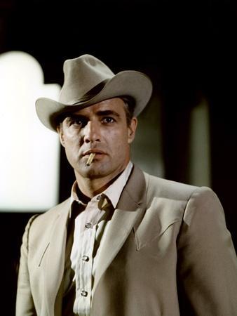 La Poursuite Impitoyable THE CHASE d'ArthurPenn with Marlon Brando, 1966 (photo)