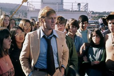 Votez McKay THE CANDIDATE by MichaelRitchie with Robert Redford, 1972 (photo)