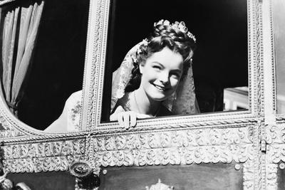 SISSI, 1955 directed by ERNST MARISCHKA Romy Schneider (b/w photo)