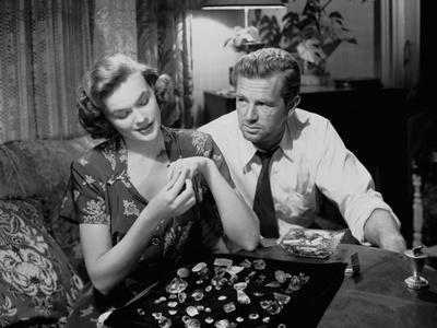 Quand la ville dort THE ASPHALT JUNGLE by John Huston with Jean Hagen and Sterling Hayden, 1950 (b/