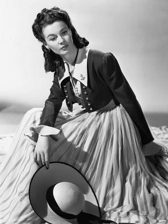 Lady Hamilton by Alexander Korda with Vivien Leigh, 1941 (b/w photo)