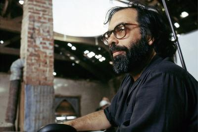 THE OUTSIDERS, 1982 directed by FRANCIS FORD COPPOLA On the set, Francis Ford Coppola (photo)