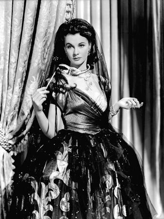 Lady Hamilton by Alexander Korda with Vivien Leigh, 1941 (b/w photo)