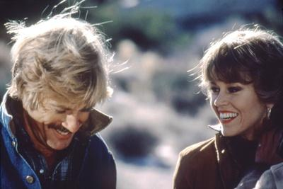 Le Cavalier electrique THE ELECTRIC HORSEMAN by SydneyPollack with Robert Redford and Jane Fonda, 1