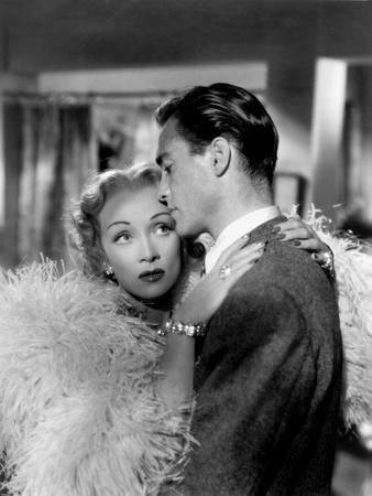 Le grand alibi STAGE FRIGHT by Alfred Hitchcock with Marlene Dietrich, Richard Todd, 1950 (Costumes