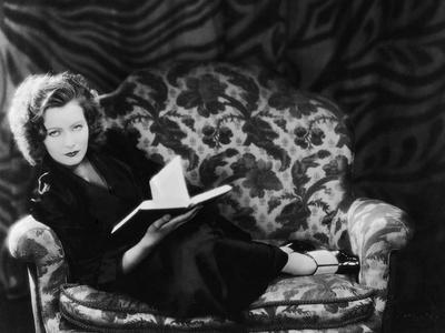 The Divine Woman by Victor Sjostrom with Greta Garbo, 1928 (b/w photo)