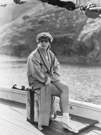 The Single Standart by John S. Robertson with Greta Garbo, 1929 (b/w photo)