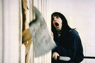 Shining by Stanley Kubrik with Shelley Duvall, 1980 (d\apres StephenKing) (photo)