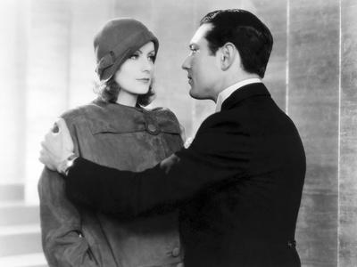 The Single Standart by John S. Robertson with Greta Garbo and Johnny Mack Brown, 1929 (b/w photo)