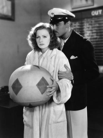 The Single Standart by John S. Robertson with Greta Garbo and Nils Asther, 1929 (b/w photo)