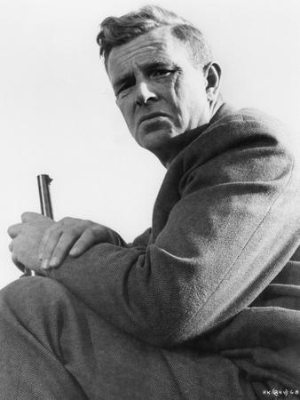 THE KILLING, 1956 directed by STANLEY KUBRICK Sterling Hayden (b/w photo)