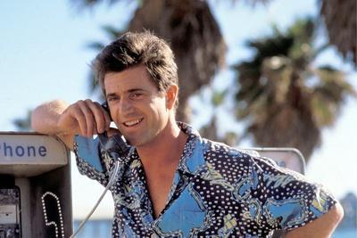 TEQUILA SUNRISE, 1988 directed by ROBERT TOWNE Mel Gibson (photo)