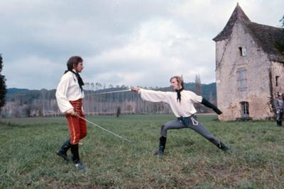 Les Duellistes THE DUELLISTS by RidleyScott with Harvey Keitel and Keith Carradine, 1977 (photo)