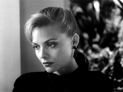 TEQUILA SUNRISE, 1988 directed by ROBERT TOWNE Michelle Pfeiffer (b/w photo)