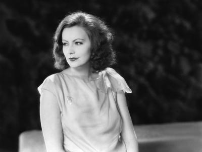 The Single Standart by John S. Robertson with Greta Garbo, 1929 (b/w photo)