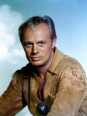 THE LAST WAGON, 1956 directed by DELMER DAVES Richard Widmark (photo)
