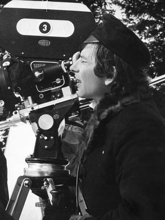 THE FEARLESS VAMPIRE KILLERS, 1968 directed by ROMAN POLANSKI On the set, Behind the camera, Roman
