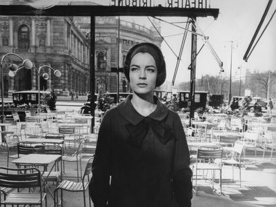Le Cardinal THE CARDINAL by Otto Preminger with Romy Schneider, 1963 (b/w photo)