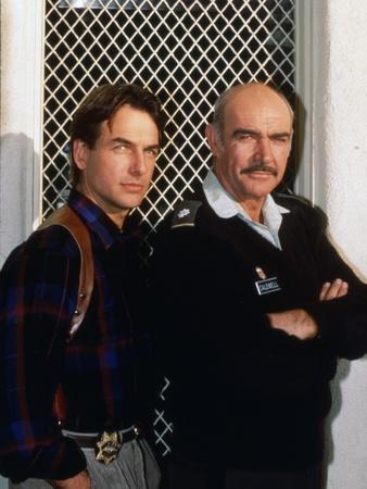 The Presidio by PeterHyams with Sean Connery and Mark Harmon, 1988 (photo)