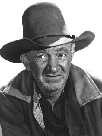 RED RIVER, 1948 directed by HOWARD HAWKS Walter Brennan (b/w photo)