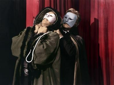 Le Fantome by l'Opera THE PHANTOM OF THE OPERA by Arthur Lubin with Claude Rains, 1943 (photo)