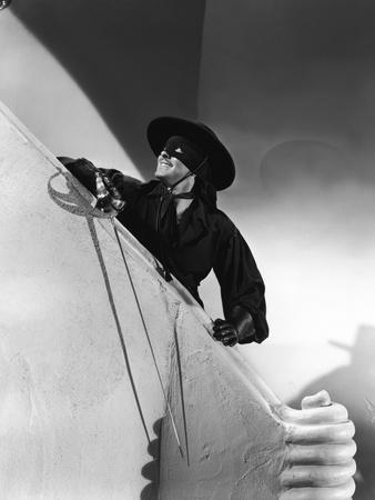 THE MARK OF ZORRO, 1940 directed by ROUBEN MAMOULIAN Tyrone Power (b/w photo)