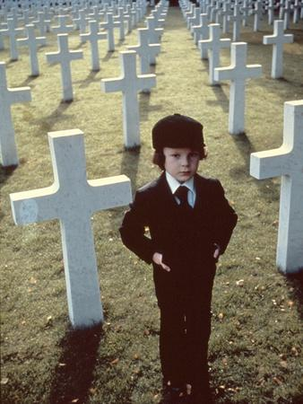 La Malediction THE OMEN by Richard Donner with Harvey Stephens, 1976 (photo)